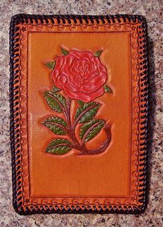 Women's Handmade Leather Wallet by BomberoLeatherworks on Etsy, $70.00