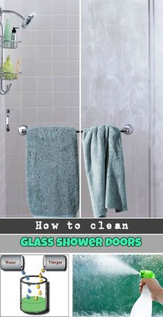 How To Clean Glass Shower Doors The Easy Way And Get