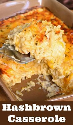 The BEST Hashbrown Casserole. Wonderful comforting potato dish loaded with chedd.The BEST Hashbrown Casserole. Wonderful comforting potato dish loaded with cheddar cheese and creamy sauce. It's easily prepared without canned soup and baked t Cheesy Hashbrown Casserole, Potatoe Casserole Recipes, Casserole Dishes, Cheesy Potatoes With Hashbrowns, Potato Casserole Hash Brown, Cracker Barrel Hashbrown Casserole, Frozen Hashbrowns, Cheese Potatoes, Breakfast Casseroles With Hashbrowns