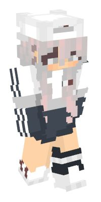 Check out our list of the best White Minecraft skins. Minecraft Skins Girl Wolf, Minecraft Skins Female, Minecraft Skins Cool, Minecraft Skins Aesthetic, Minecraft Stuff, Minecraft Plans, Minecraft Games, Minecraft Designs, Mc Skins