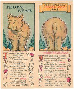 John Martin's Spool Zoo--Bear