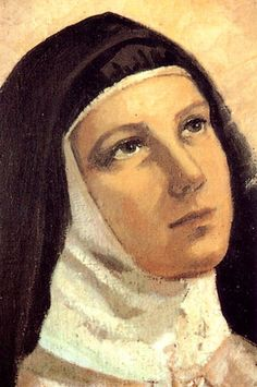 May God protect me from gloomy saints. Theresa of Avila It is the least you can do It is the gift you can give . Catholic Art, Catholic Saints, Religious Images, Religious Art, St Theresa Of Avila, Holly Pictures, St Therese, Centenario, Blessed Mother