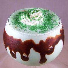 Shamrock Shake Re-do.....•2 cups vanilla ice cream  •1 1/4 cups milk  •1/4 - 1/2 Teaspoon Mint extract  •9 drops green food coloring