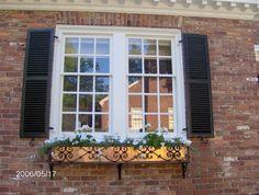 Window Boxes gardenmetalworks.com