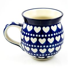 Unikat Polish Pottery Stoneware Gentlemen's Mug 11oz