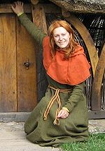 Nicely documented garb throughout SCA period - doesn't provide documentation, but I recognize most of the art pieces she's drawn from.  Good visual resource.