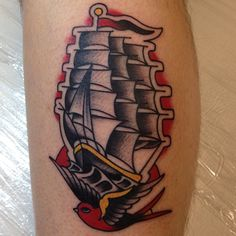 Mikey Holmes American Traditional Tattoo