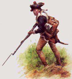 German Muskets in Rev War
