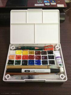 水彩画工具使用心得 ——喜欢把-小X(自由撰稿人)Freelancer