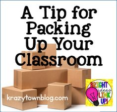 A Tip for Packing Up