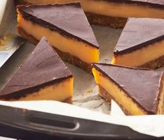 The Best Ever Caramel Slice: A crumbly biscuit base and indulgent layer of caramel finished off with dark chocolate topping – sublime!. http://www.bakers-corner.com.auhttps://www.bakers-corner.com.au/recipes/sweetened-condensed-milk-recipes/condensed-milk-slices/the-best-ever-caramel-slice-2/