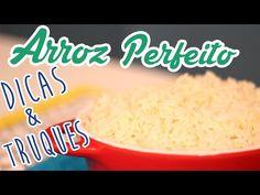 Como fazer Arroz Branco (Truques e Dicas) - Cozinha pra 1 - Ingredientes 1 Colher de Sopa de Óleo ou azeite 2 Dentes de Alho 1/2 Cebola 1 Xícara de Arroz 2 Xícaras de Água 1 Colher de chá de Sal