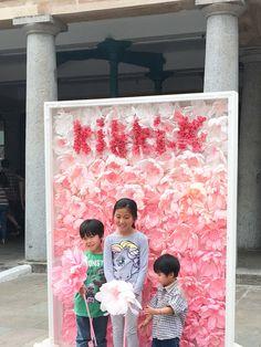 A Petal Unfolds/kikki.K paper flower wall