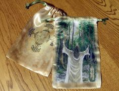 The Grove Oracle Card Bag