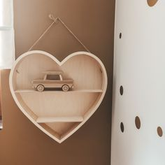 MinewoodPoland Heart Shelf, Plywood Walls, Wooden Art, Kids Decor, Wall Decor, Shelves, Babies, Decoration, Etsy