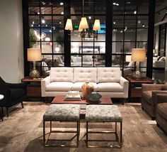 Furniture in Knoxville - Sneak Peek of Rowe Furniture's 2016 spring High Point Market Showroom - Home Décor - Home Interiors - Interior Design - The Design Center at Braden's Showroom, High Point Furniture, High Point Market, Decoration, Spring, Couch, Interior Design, Interiors, Furniture Stores
