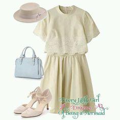 #jillstuart #dress #pumps #hat #bag #tokyo #iQON #pintarest #mao_pak #O_range (Tokyo Opera City Tower)