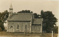 Driby Church Nr Alford Lincolnshire Real Photograph Postcard B12