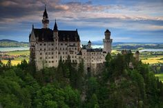 Neuschwanstein Castle, Germany  traveled here with Alex Dunn. Fun!