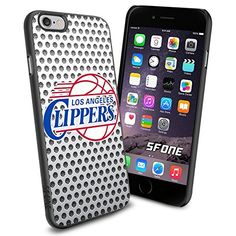 """Los Angeles Clippers Basketball White iPhone 6 4.7"""" Case Cover Protector for iPhone 6 TPU Rubber Case SHUMMA http://www.amazon.com/dp/B00VQZG95S/ref=cm_sw_r_pi_dp_tSNTwb16YQV88"""