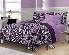 Zebra Decor - Find trendy zebra print room decor, bedding, wall art