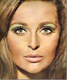 Make-up - Beauty Box: Disco Makeup 1960s Style Makeup, 1970s Makeup Disco, Retro Makeup, Vintage Makeup, 1970s Disco, Makeup Style, 1970s Makeup Eyes, Makeup Ads, Make Up Looks