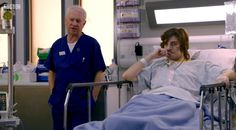 Casualty Charlie and Louis (Derek Thompson & Gregory Foreman) Bbc Casualty, Medical Drama, Great British, Respect