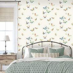 Teenage Girl Room Decor, Girl Decor, Modern Cottage, Girls Bedroom, Your Design, Interior Decorating, Colours, Wallpaper, Home Decor