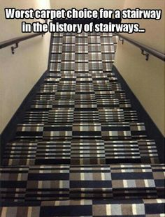 Funny pictures about I'm Falling Just Looking At These Stairs. Oh, and cool pics about I'm Falling Just Looking At These Stairs. Also, I'm Falling Just Looking At These Stairs photos. Funny Cute, The Funny, Hilarious, Daily Funny, Just Keep Walking, Design Fails, Design Ideas, You Had One Job, I Love To Laugh