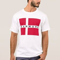 denmark danmark flag country danish text name T-Shirt - tap to personalize and get yours Iceland Flag, Flag Shirt, T Shirt, Flag Country, Plus Size Shirts, Denmark, Shirt Style, Fitness Models, Kids Outfits