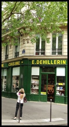 My husband and I were in Paris recently for a day and a half, and we tried to see, do and eat as many things as we could. The trip was a success, in part because everything is so much easier without three children in tow. E. Dehillerin, Paris' famed cooking store, was on my list. It was one of my favorite stops on our short trip, and my husband teased me, snapping a picture of me snapping a picture of the store. I promised not to spend too much, and I didn't. But I came back with a fe...