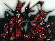 Natasa Tomic The Evil's Offspring, 2006 Oil painting
