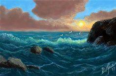 Seascape w Rebelle by ghost549.deviantart.com on @DeviantArt