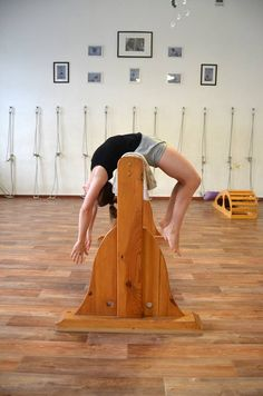 177 best iyengar yoga wooden props images  iyengar yoga