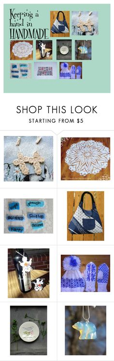 Keeping a hand in handmade on Etsy.com by corkycrafts-1 on Polyvore featuring interior, interiors, interior design, home, home decor, interior decorating and Handle