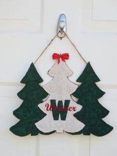 Triple Trees Door Hanger- Custom