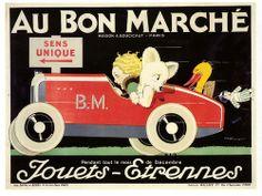 Au Bon Marche by Paul Malon on Flickr. Rene Vincent, 1930.