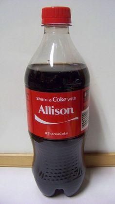 Share a Coke with Colin 20 fl oz Collectible Bottle Rare Unopened Coca-Cola