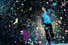 Coldplay, photo taken by amazing Charlona Teerlink @Ahoy, The Netherlands.