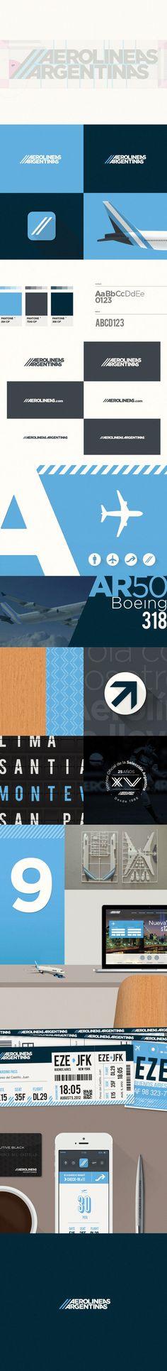 Aerolíneas Argentinas | Rebrand concept on Behance