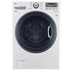 LG Electronics, 4.5 DOE cu. ft. High-Efficiency Front Load Washer in White, ENERGY STAR, WM3575CW at The Home Depot - Mobile