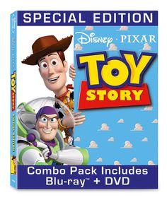 Look at this #zulilyfind! Toy Story Blu-Ray & DVD by Pixar #zulilyfinds