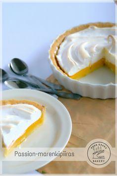 Passion-marenkipiiras   paha kakku bakery Bakery, Pudding, Passion, Desserts, Food, Healthy, Tailgate Desserts, Deserts, Bakery Shops