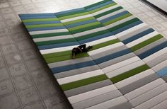 Textile Field: Art Installation Project by Ronan and Erwan Bouroullec