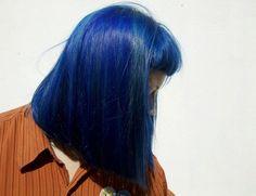Imagen de blue, hair, and grunge