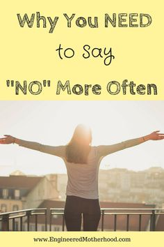 """Successful Entrepreneurs Know how to Say """"NO!"""""""