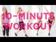 10-Minute Full-Body Workout With Natalie Uhling For Under Armour | Love my girl @Natalie Uhling!!