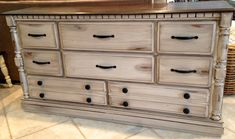Distressed Dresser by Fisherman's Wife Furniture