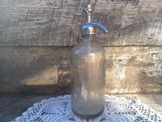 Early Vintage Seltzer Bottle  Herkimer by CottonCreekCottage, $28.00