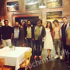 Team Teefa In Trouble at Maya Dinner, Pakistani Celebrities, Teefa Team, celebrities, maya ali, ali zafar, showbiz, showbiz industry, lollywood news